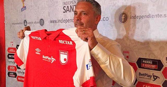 """Patricio Camps: """"Mi ciclo en Santa Fe comienza a partir del próximo semestre""""."""