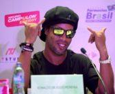 Ronaldinho ya tiene lugar para encontrarse con sus hinchas en Colombia.