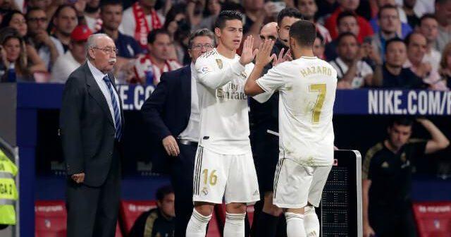 James Rodríguez es un 'actor' secundario en el Real Madrid, que dirige Zinedine Zidane