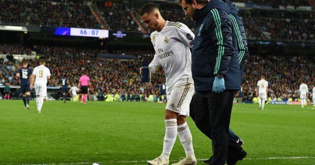 Alivio en el Real Madrid: la lesión de Hazard no pasa a mayores y estará listo para el clásico español
